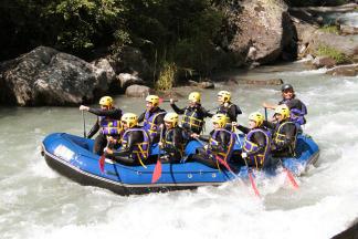 Descente rafting sur la Haute Isère - Tarentaise - Savoie