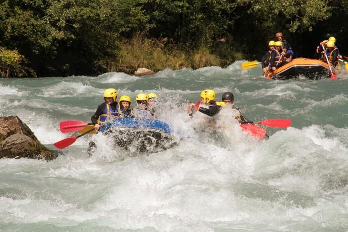 Journées rafting Savoie sur la Haute Isère