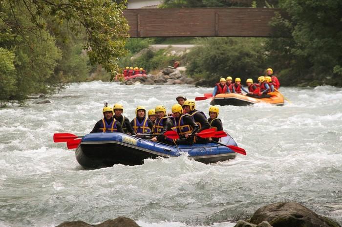 Rafting Savoie sur la Haute-Isère