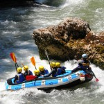 Haute-Savoie rafting près de Thonon-les-Bains