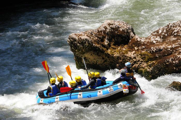 Rafting Haute-Savoie sur la Dranse - Thonon les Bains