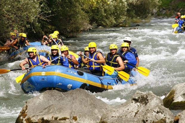 rafting Lyon