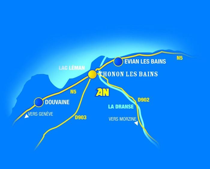 Accès rafting base de Haute Savoie - Thonon
