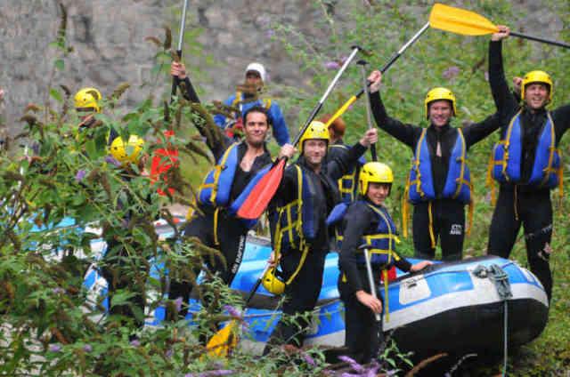 Séminaire rafting en Haute-Savoie - Thonon - Alpes