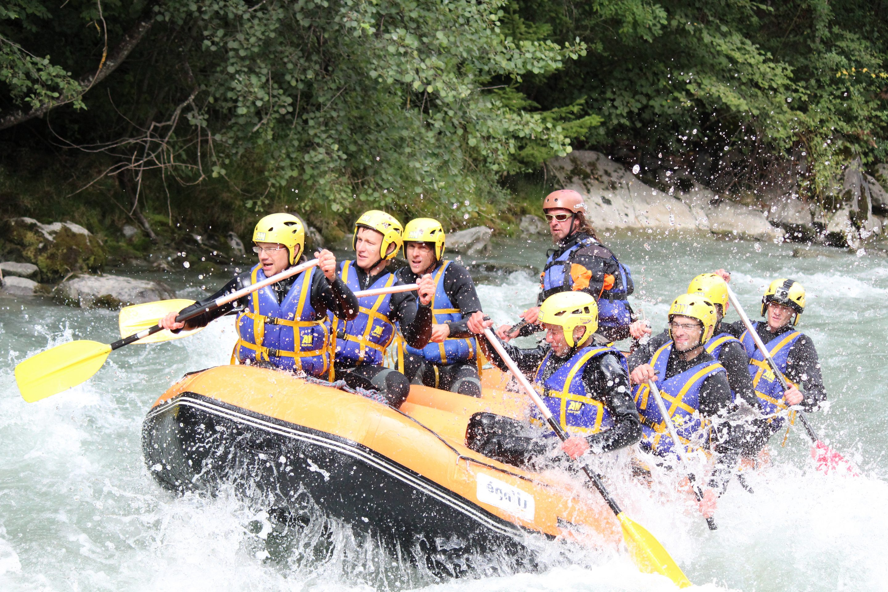 Rafting Grenoble