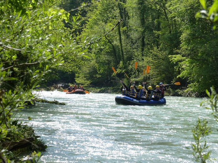 Séminaire rafting Haute-Savoie