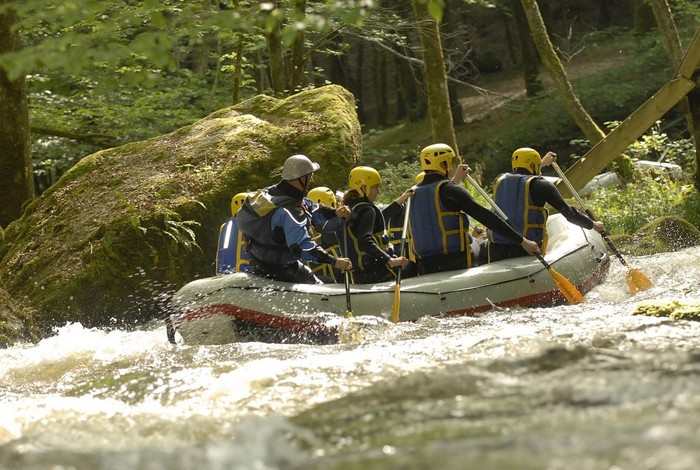 Rafting Morvan : Cure et Chalaux en Bourgogne