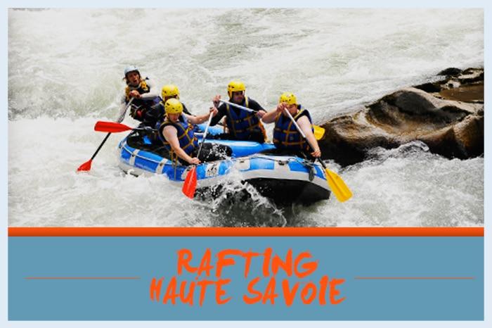 Rafting thonon