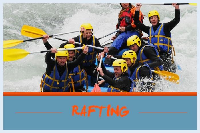 Vignette rafting
