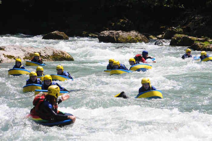 Hydrospeed (nage en eau-vive) Thonon - Haute Savoie